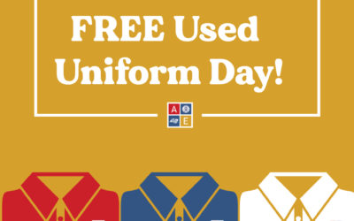 FREE Used Uniform Day! – July 28, 2021